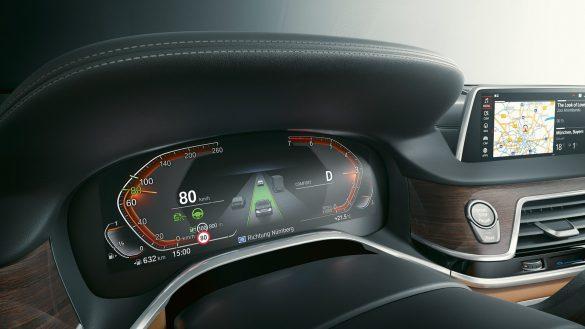 BMW 7er Limousine Live Cockpit