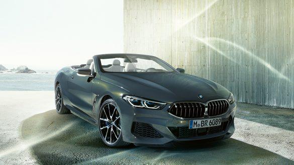 BMW 8er Cabrio Front von rechts