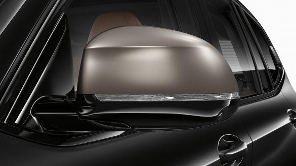 BMW X3 M galvanisierten Spiegelkappen in Cerium Grey