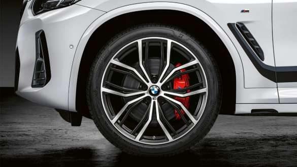 "BMW X3 G01 21"""" M Performance Schmiederad Y-Speiche 701 M Bicolor 2021"