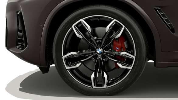 BMW X4 M40i M40d G02 LCI 2021 Facelift 21'' M Leichtmetallräder Doppelspeiche 718 M
