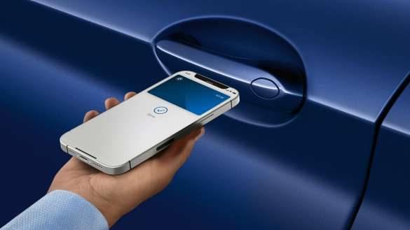 BMW X4 M Automobile F98 G02 LCI 2021 Facelift Digital Key